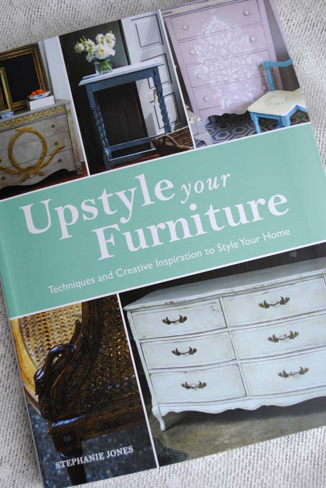 Upcycling furniture ideas and diy book by stephanie jones