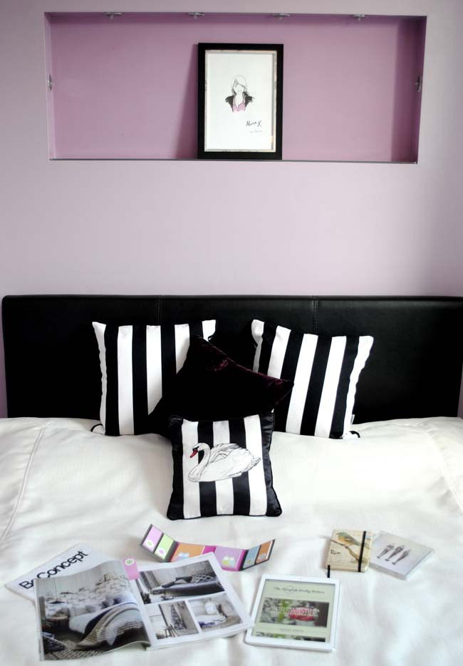 centrepiece alina isaev purple bedroom inspiration for blogging
