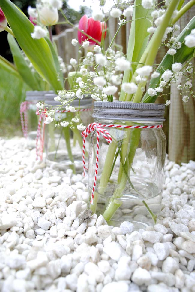 garden flower decorating ideas for spring vases