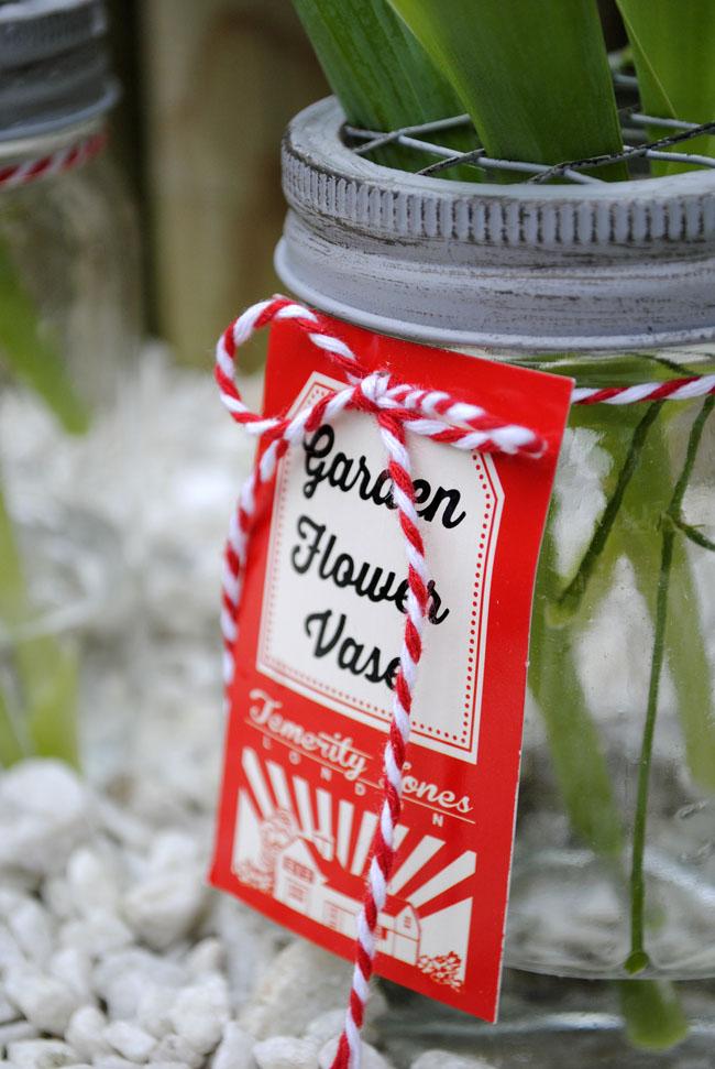 garden flower vase decorating garden spring ideas