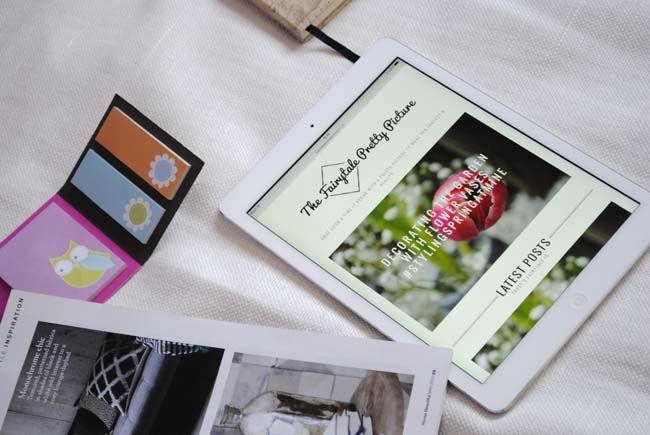 iPad fairytale pretty picture interior lifestyle magazines inspiration