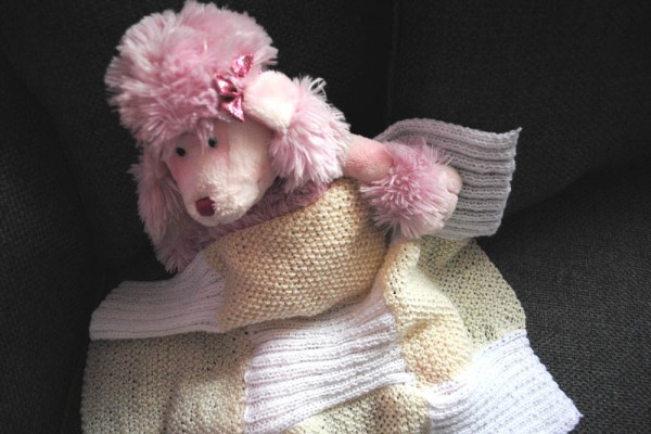 free knitting pattern for its a girl