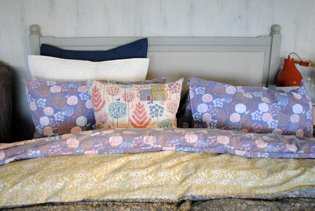 House of Fraser bed florals and patterned bed covers cushions fun