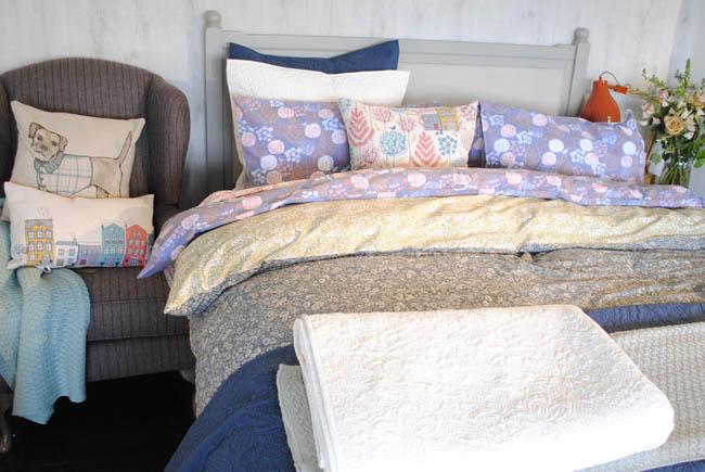 House of Fraser bedroom ideas patterns fresh feminine