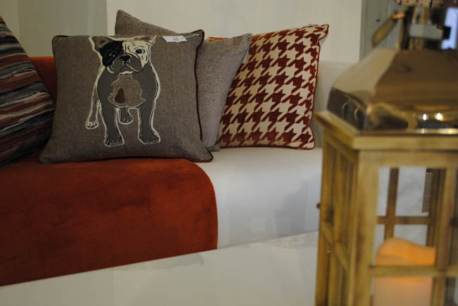 Matalan pug cushion cottage home ideas