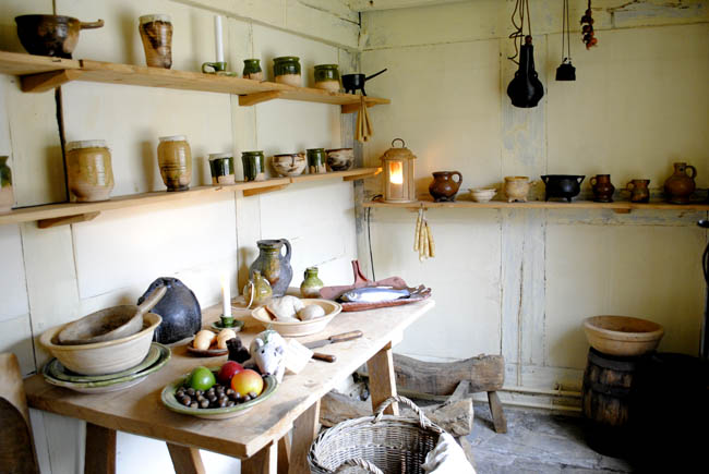 Stratford Upon Avon shakespeare birthplace kitchen