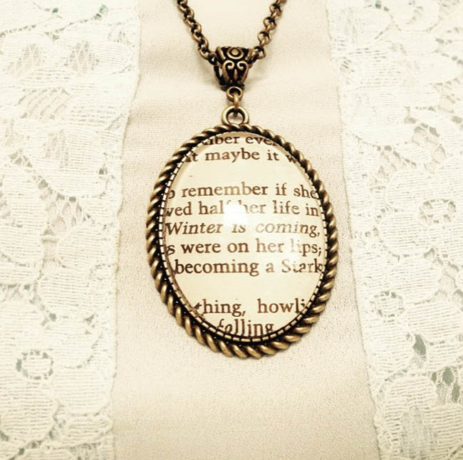 Game of Thrones jewellery necklace fashion blogger uk london