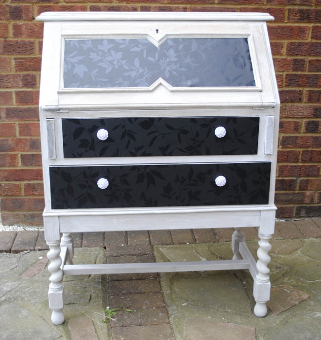 Upcycled gumtree writing bureau furniture upstyle