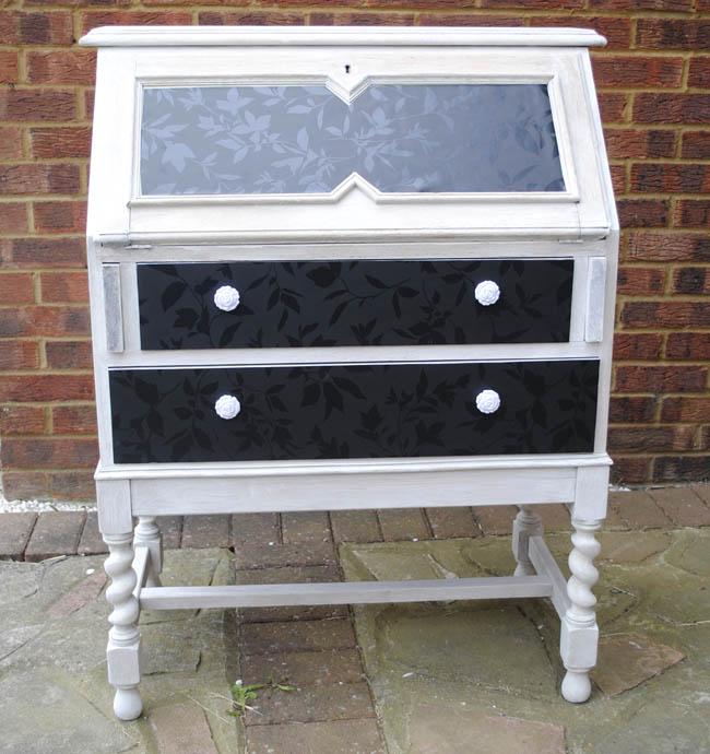 Upcycled gumtree writing bureau furniture upstyle