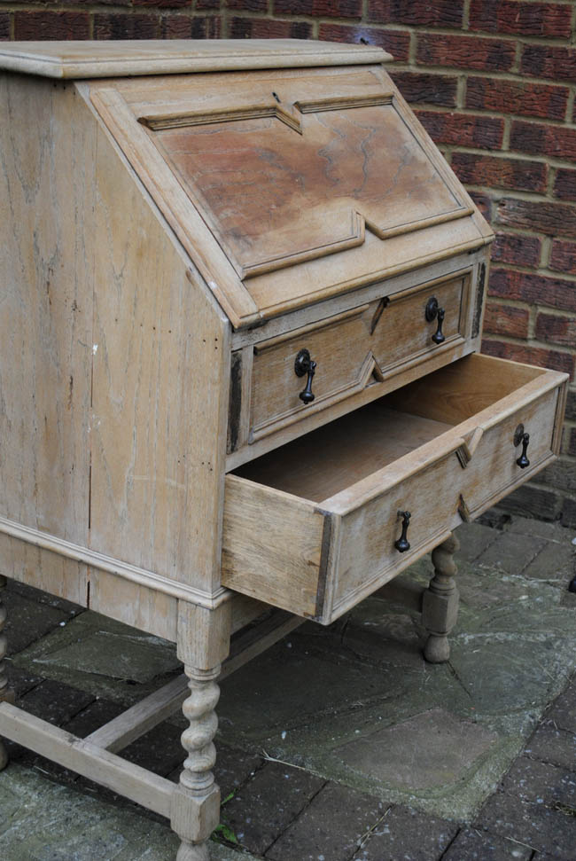 before and after upcycling project with gumtree writing bureau
