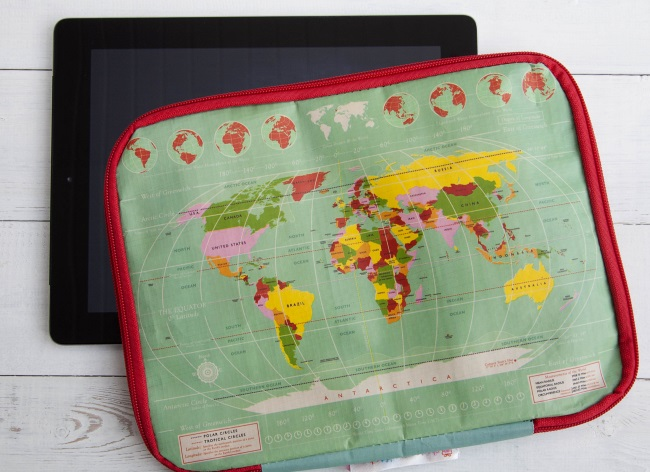 dotcomgiftshop map tablet case