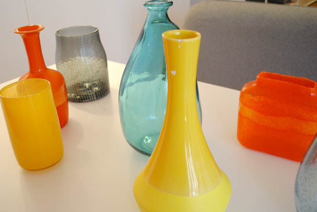 habitat bright colours home interiors accessories vases