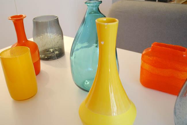 habitat bright colours home interiors accessories vases