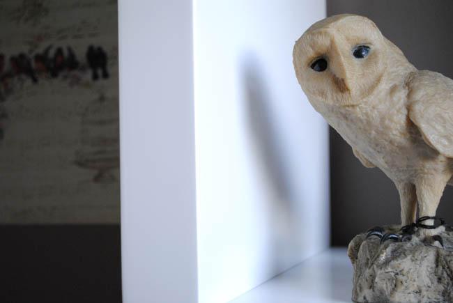 owl ornament decoration home office ideas