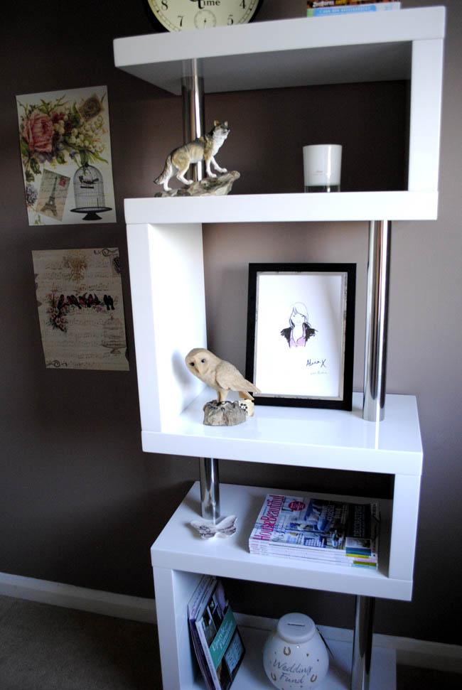 white shelf from dwell modern home office ideas