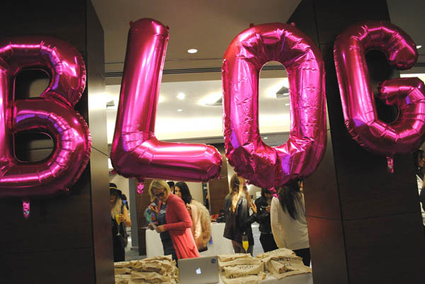 #Bloggersfestival blog sign in conrad london