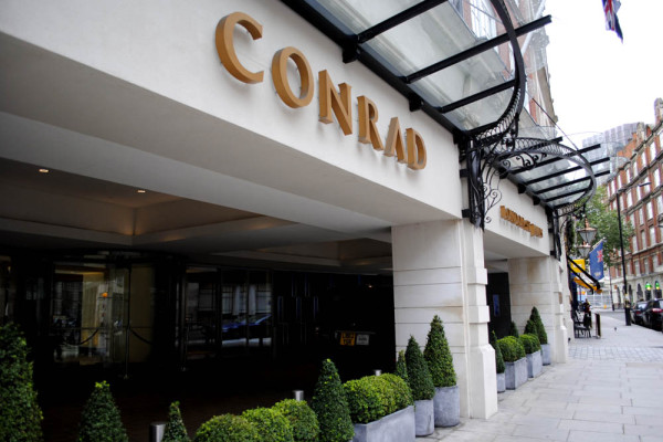 Conrad hotel st james street by station