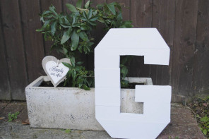 How to Make a Wooden Alphabet Letter