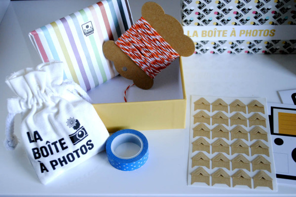 Retro photos competition decoration cheerz strips and la boite a pictures
