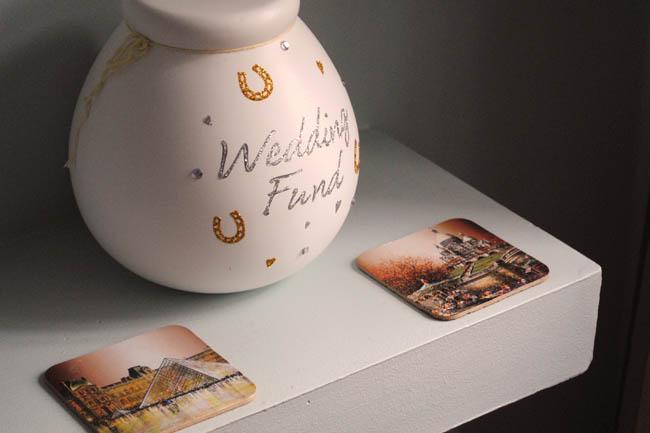 wedding fund coin saving home