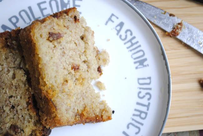 banana bread home blog slice dessert