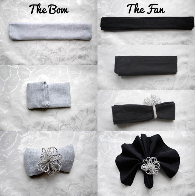 how to fold a napkins for a christmas party blog