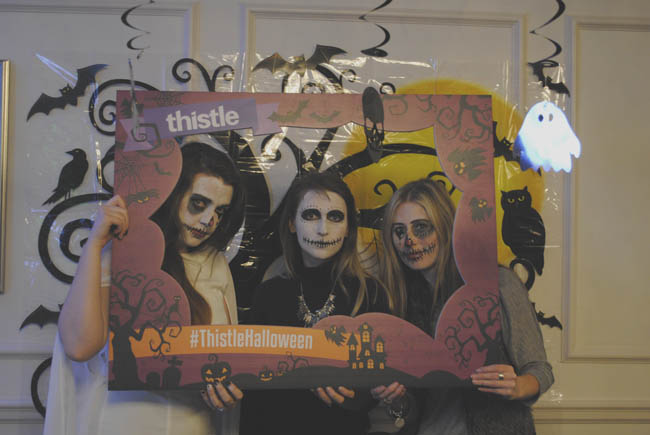 thistlehalloween blogger travel lifestyle event