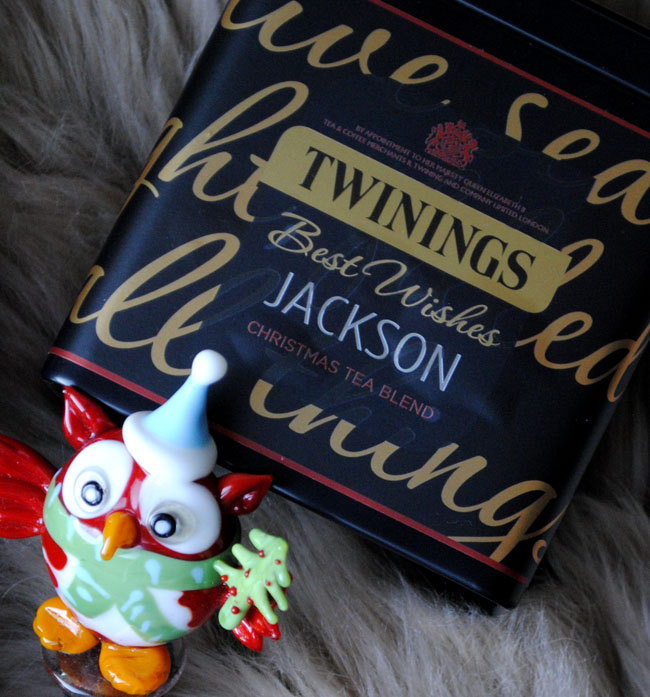 Christmas tea blend by Twinings tea and xmas novelty drink
