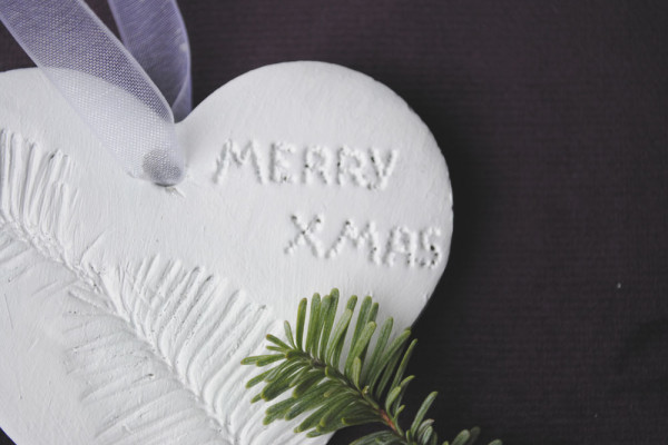 Merry Christmas decoration for tree crafts ideas with clay