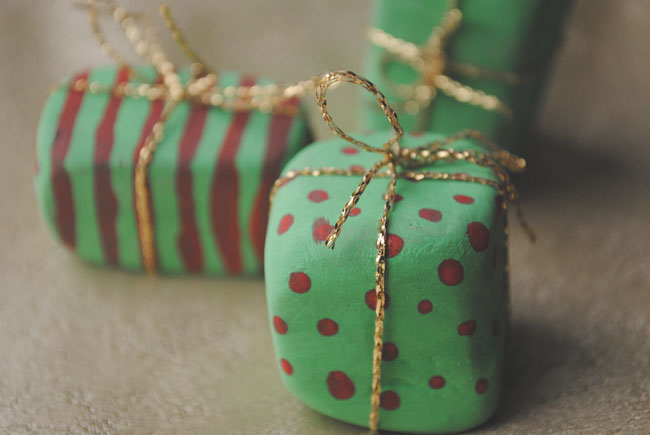 christmas presents gifts made from clay crafts diy