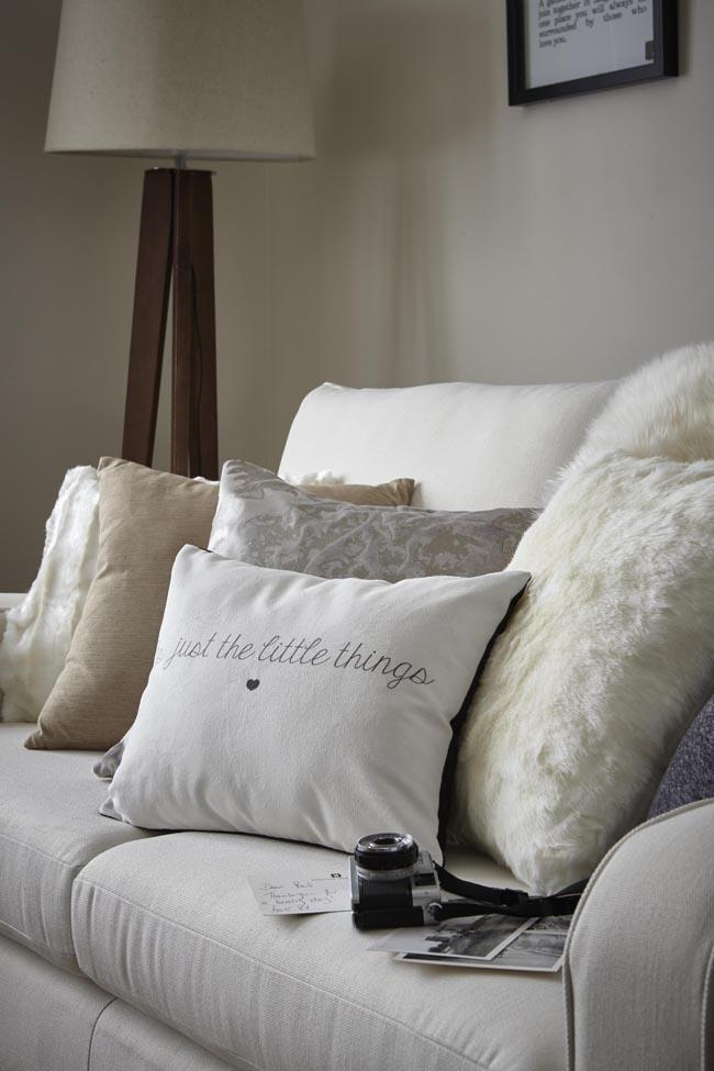 cosy cushions on sofa home blog essex