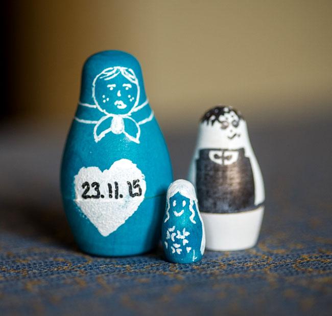 handmade handpainted russian dolls craft ideas