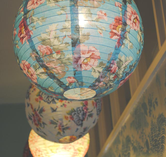 lampshade ideas to show off personality in a rented place