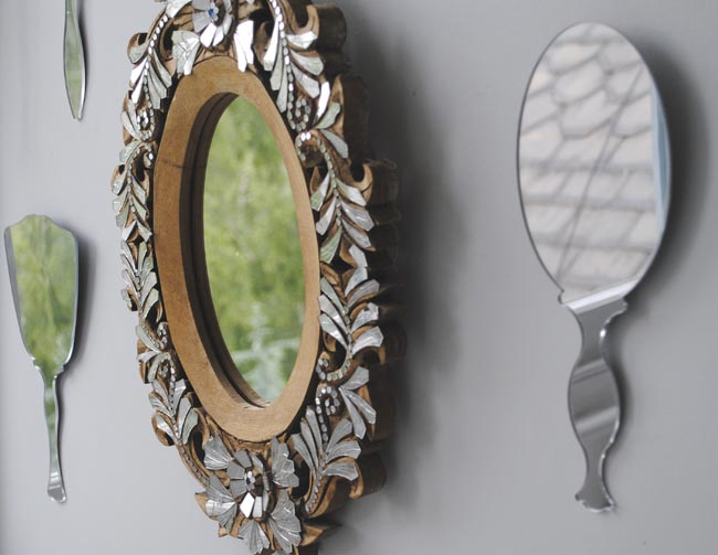 mirrors brighten up rooms and add interest