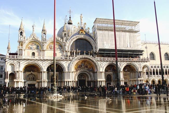 venice cathedral basilica san marco italy