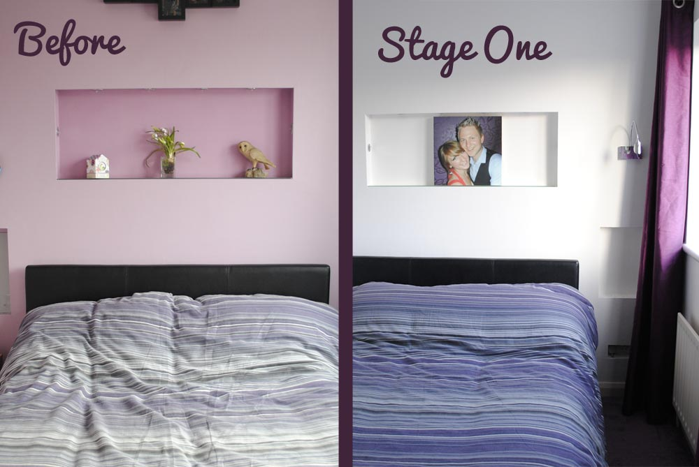 Bedroom ideas and redecorating the purple for Redecorating a small bedroom