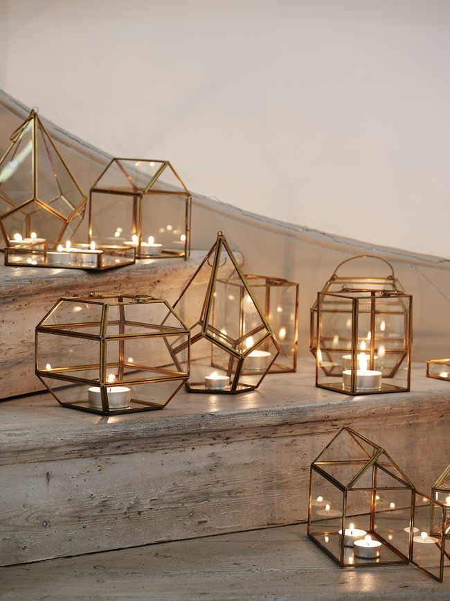 light lanterns on stairs pretty interiors by oliver bonas