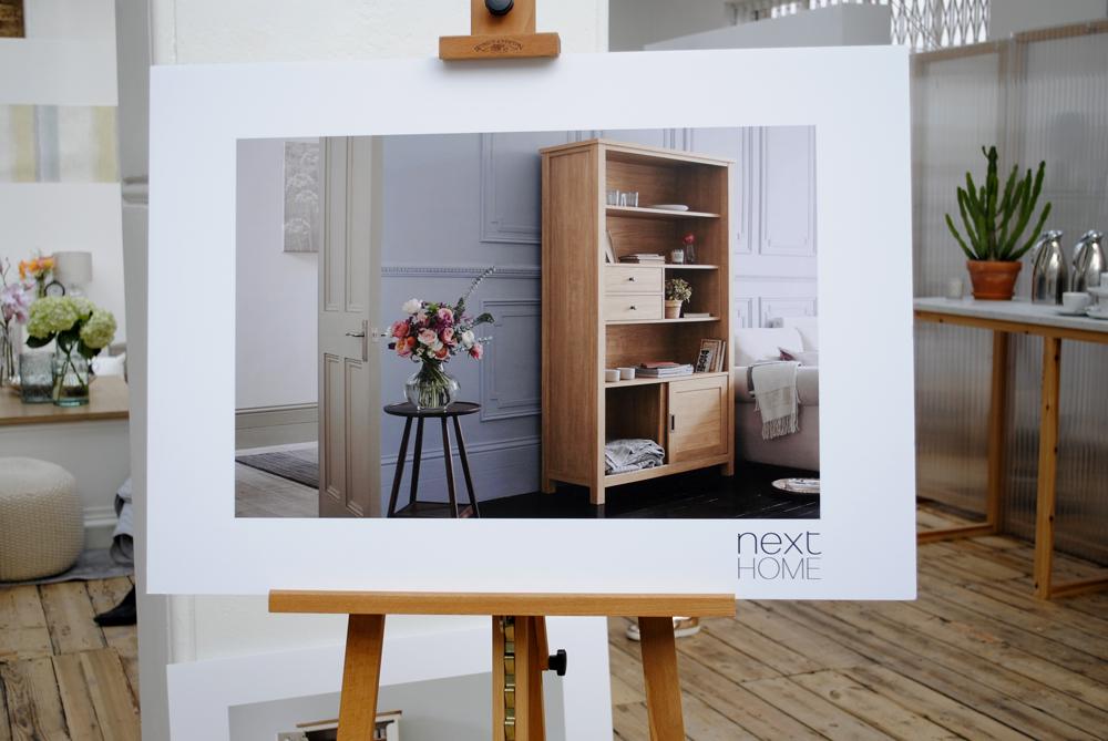 Next flat pack furniture press Angel #Nexttonotime breakfast event