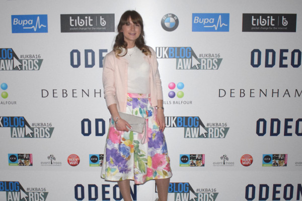 Uk Blog Awards sponsored by Odean alina ghost lifestyle blog judge