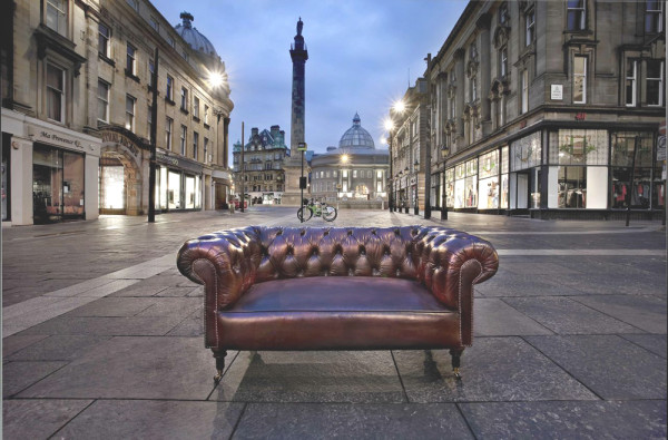 chesterfield in the street hand dyed walpole