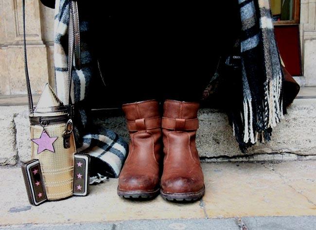 timberland boots and rocket ship bag fashion bloggers