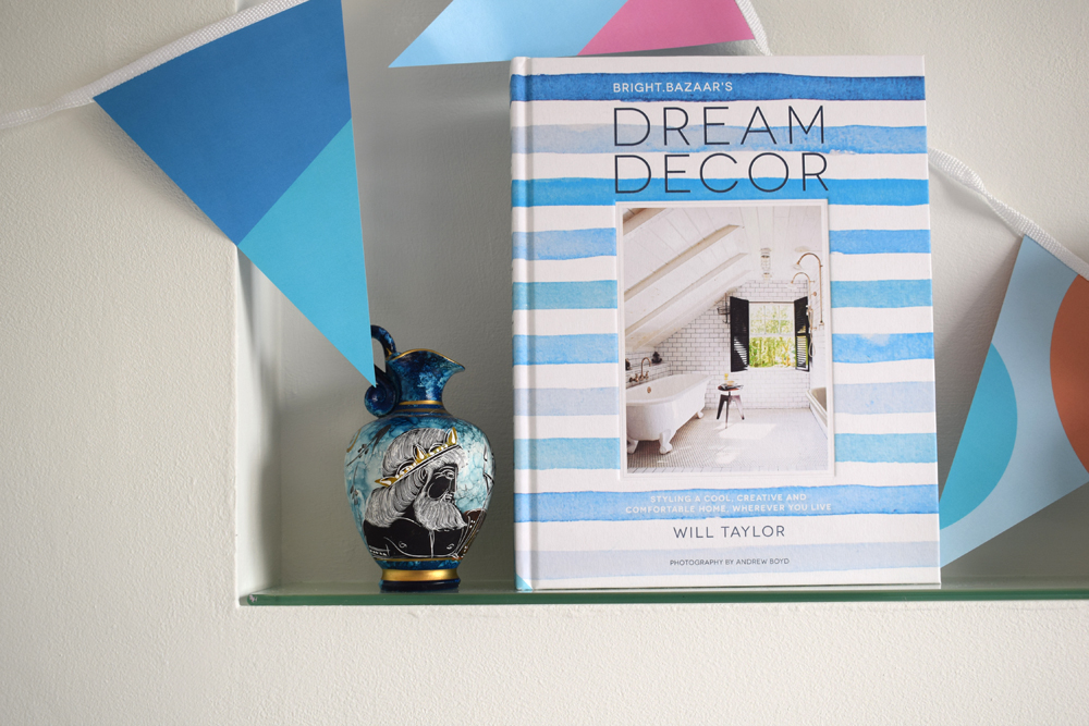 Dream Decor interiors book by bright bazaar blogger