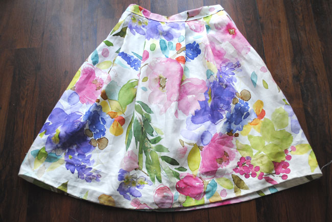 sew skirt tutorial how to guide step by step