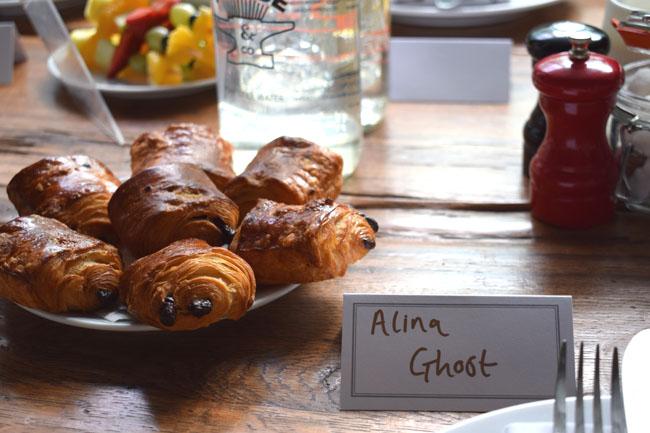 alina ghost breakfast crossaints