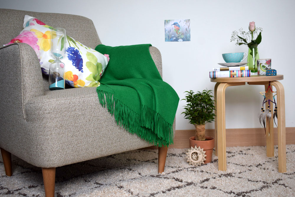 colourful interior styling ideas lounge living space