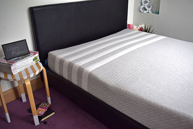 leesa mattress bed bedroom master