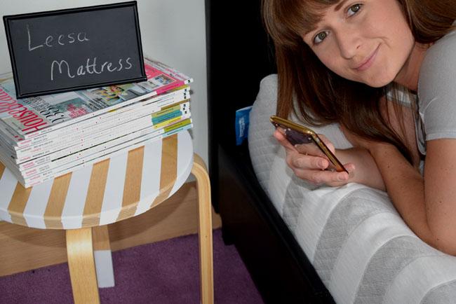 leesa mattress review by home blogger