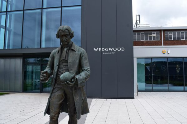 wedgwood statue museum factory tour and pottery class