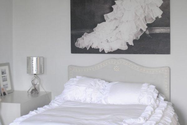 white bedroom ideas home blogger interior design styling