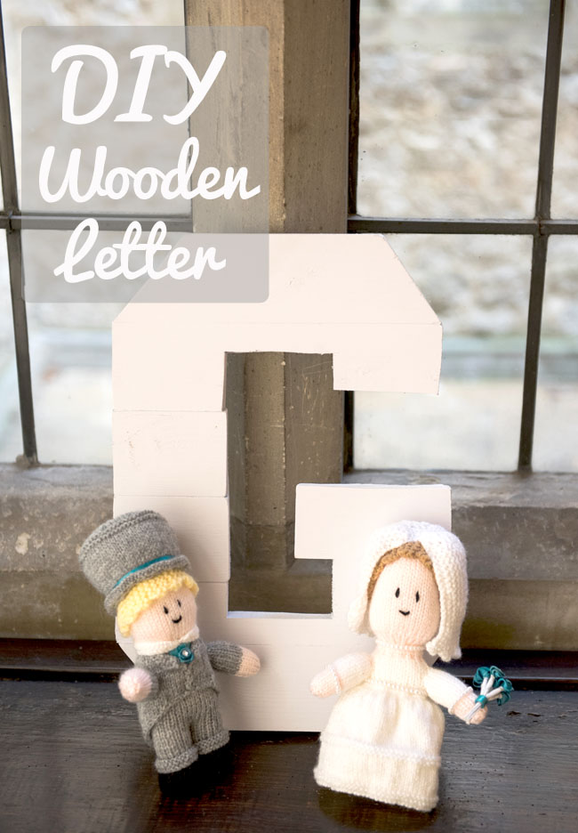 DIY wooden letter wood work crafts